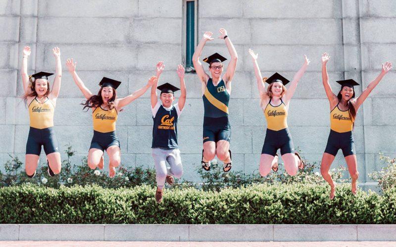 Studenter på University of California, Berkeley.
