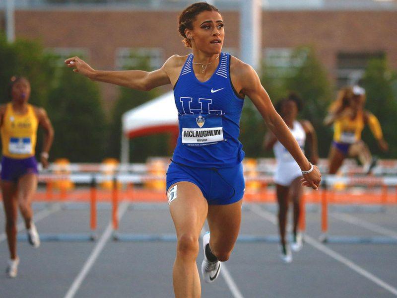 Löpare som springer för University of Kentucky.