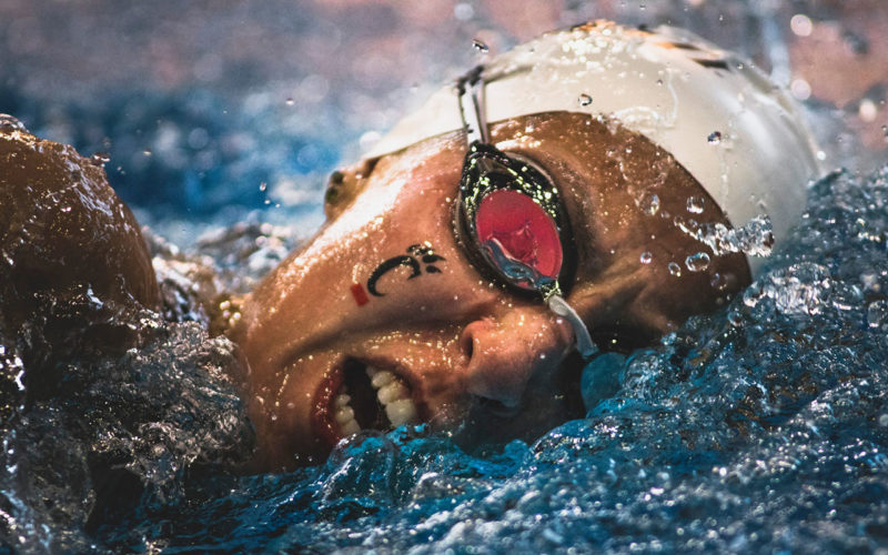 Swimmer at University of Cincinnatti