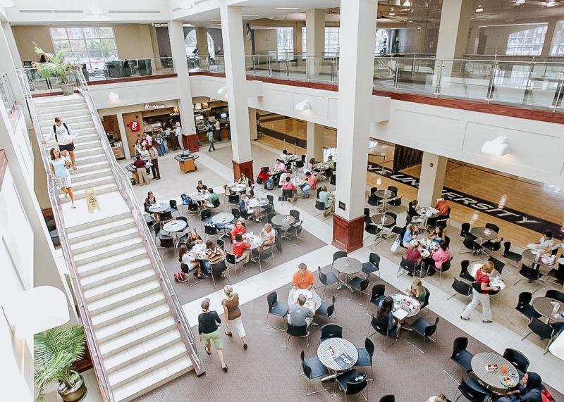 Campuslivet på college